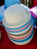 Many hats. For sale, locations in thailand Stock Images