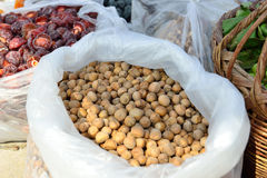 Many hazelnut. Royalty Free Stock Images