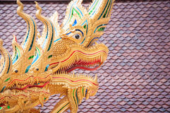 Many heads of dragon Royalty Free Stock Photography