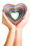 Many hearts Royalty Free Stock Photo