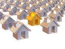 Many houses Stock Photos