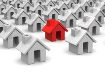 Many houses Stock Photography