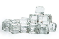Many ice cubes Stock Image
