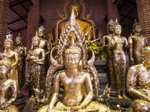 Many Image of buddha Royalty Free Stock Photography