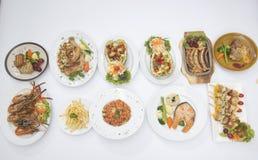 Many of International Food Royalty Free Stock Image