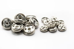 Many iron fasteners Stock Photography