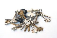 Many keys Stock Photography