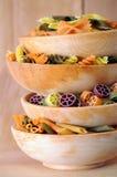 Colorful pastas Royalty Free Stock Photo