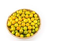 Many kumquat fruit Royalty Free Stock Photo