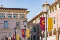 Free Many Lamp And Ronald Tutor Campus Center Royalty Free Stock Photo - 121615625