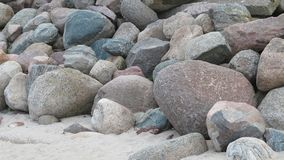 Many large stones Royalty Free Stock Image