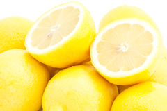 Many lemons Stock Image