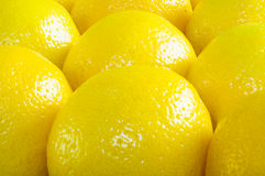 Many lemons  - background Stock Photo