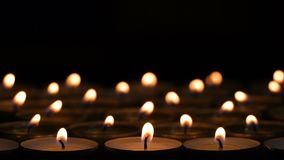 Free Many Little Candles Creative Background Stock Photo - 129697850