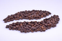 Many little coffee corn Stock Photography