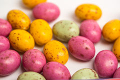 Many little easter eggs Stock Photography