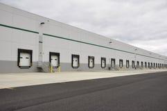 Many loading docks royalty free stock photography
