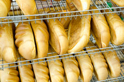 Bread in shop Royalty Free Stock Photos