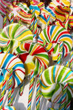 Many lollipops Royalty Free Stock Image