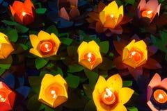 Many lotus lanterns Royalty Free Stock Image