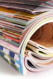 Many   magazines Royalty Free Stock Photography