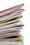 Many   magazines Stock Image