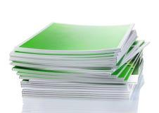 Many magazines Stock Images