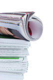 Many magazines Royalty Free Stock Image