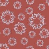 Many mandalas random pattern stock photography