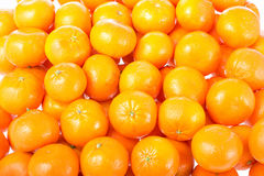 Mandarines background. Stock Image
