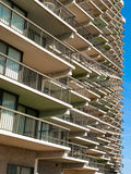 Many Many Condo Balcony Royalty Free Stock Images