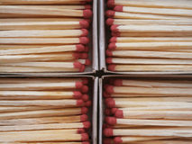 Many matches Stock Photography