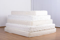 Many mattresses Royalty Free Stock Photo