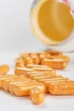 Many medicinal pills Royalty Free Stock Images