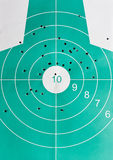 Many miss hits and one strike in bulls eye Stock Images