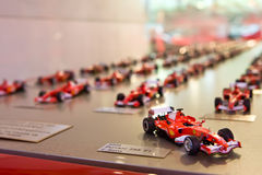 Many Models Of Sport Cat Formula 1 Royalty Free Stock Image