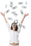 Many money Royalty Free Stock Image