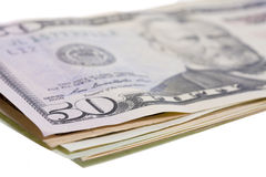 Many money bills made of paper Royalty Free Stock Images