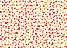 Many multicolored stars background. holiday man symbol Royalty Free Stock Photo