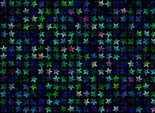 Many multicolored stars background. holiday symbol Royalty Free Stock Photography