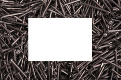 Many nails Royalty Free Stock Photos