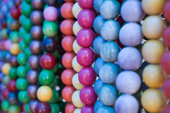 Many necklaces Stock Photo