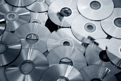 Many new CDs Royalty Free Stock Image