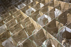 Many new glass Stock Photos