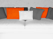 Many nice pillows Royalty Free Stock Images