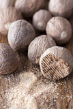 Many of Nutmegs royalty free stock photography