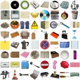 Many Objects Isolated Royalty Free Stock Photo