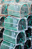 Many octopus traps Stock Image