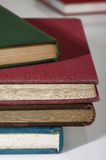 Many old books Royalty Free Stock Images