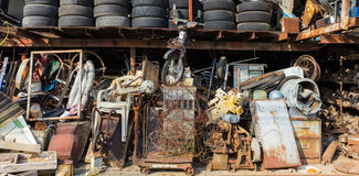 Many old things rusted. In shop Royalty Free Stock Photography